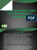 Las Doce Reglas de La Interpretacion Fotogeologica