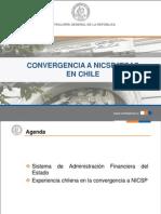 El Caso de Chile en La Convergencia a NICSP