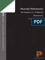 HeavenlyMathematics TheForgottenArtOfSphericalTrigonometry G VanBrummelin(2013)