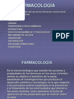 1 Concepto de Farmacología