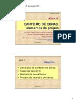 Civil - Canteiro de Obras - Metodologia p Elaboração do Projeto - Aula.pdf
