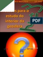 Tema 3 - Métodos para o estudo do interior da Terra 1