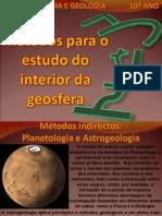 Tema 3 - Métodos para o estudo do interior da Terra 2