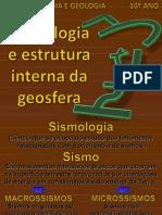Tema 3 - Sismologia e Estrutura Interna da Geosfera 1
