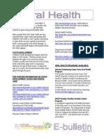 8r.oralHealthE Bulletin