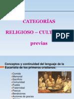 01 Categorias Religioso Culturales Previas