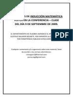 Problemas de Induccion Matematica