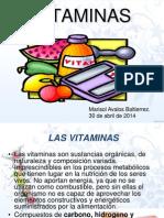 Generalidades de Vitaminas Marisol Avalos