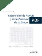 AENOR Codigoetico 2013-03-05