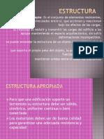 Estructura de Planos de Costruccion