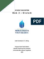 Kuliah 4 Bab 2 Sistem