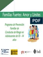 Familias Fuertes Amor y Limites
