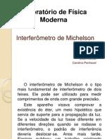 Interferômetro de Michelson