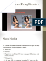 Social Media and Eating Disorders Power Point 1