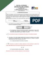 Solución I Evaluación Física C