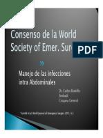 Consenso de La World Society of Emer 2011
