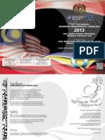 Buku Prog APC 2013 Bahagian Sibu, Sarawak