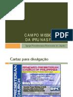 Campo missionario da IPRJ nas Filipinas