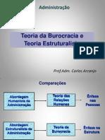 Aula 08- A3 - TGA - Burocracia e Estruturalista