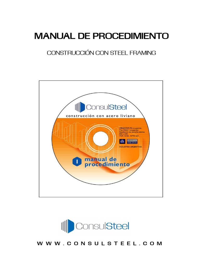 Manual Steel Framing - Consul Steel