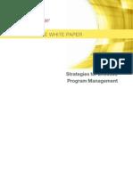 Program Management WP Dec 2013