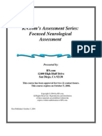 Course study on Neurological Assesments