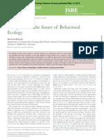 Behavioral Ecology 2014 Milinski Beheco Aru079