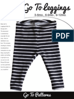 Baby Go to Leggings Pattern