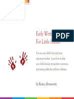 Early Writing for Little Hands