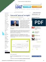 """Como Se Diz """"Porta-Voz"""" Em Inglês_ _ Blog Influx"""
