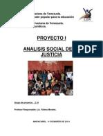 Analisis Social de La Justicia Proyecto i