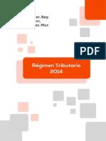 Regimen Tributario 2014
