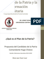 Plan de La Patria CIM Feb 2014