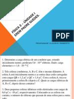 Física 3 PDF Revisão Unit 1- 2014