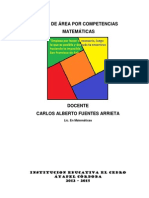 Plan de Area Matematicas