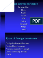 Mba Bms Foreign Investments