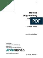 Libro Arduino Programing Notebook ES