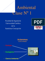 Clase 1 Ing. Ambiental 2014