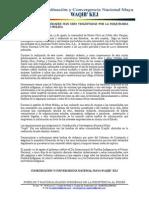 Nuevamente Comunidades Han Sido Violentadas Por La Maquinaria Represora de Pérez Molina