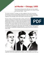 Jewish Ritual Murder Chicago 1955