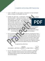 Steps to Follow Type-3 JDBC Program