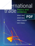 Markusen,Melvin,Kaempfer,Maskus International Trade - Theory and Evidence (McGraw Hill)