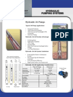 Hydraulic Pumping Systems Brochure