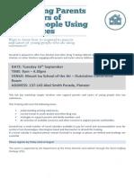 Mount Isa Dovetail Workshop Sept 16th
