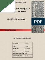 Estela de Raimondi Presentacion