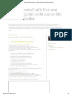 Nuvoton NUC140 32-Bit ARM Cortex-M0 Microcontroller