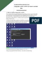 Tài liệu hướng dẫn đào ADSL và PSTN