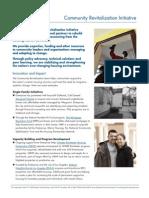 Community Revitalization Initiative
