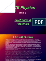 Vce Unit 3 Elec&Photonics