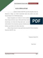 laporan kerja praktek